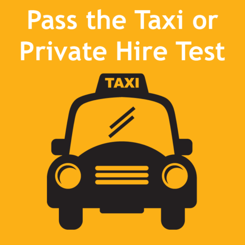 Pass the Taxi Driving Test or Private Hire Test