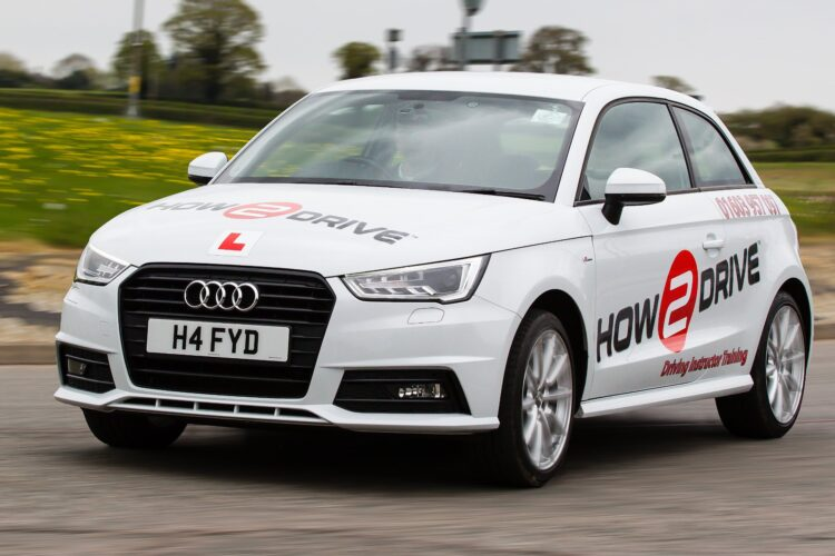 Driving lessons in Norfolk & Suffolk in our Audi instructor vehicle.
