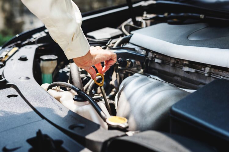 You might be asked how to check the engine oil level as part of the show and tell component of your practical test.